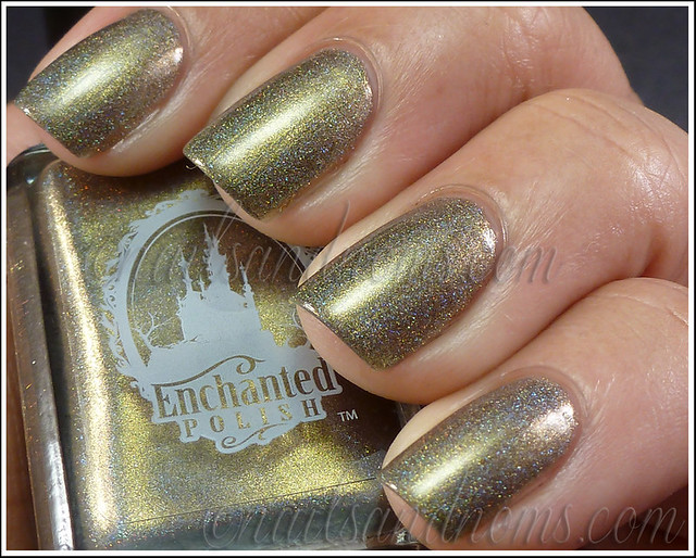 Enchanted Polish Ho Ho Holoday - Olive The Other Reindeer 2