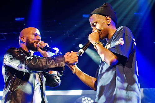 Big Sean and Common in concert at The Palace of Auburn Hills, 12/01/12