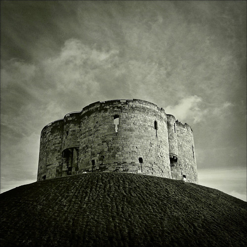 Clifford's Tower, York, Yorkshire
