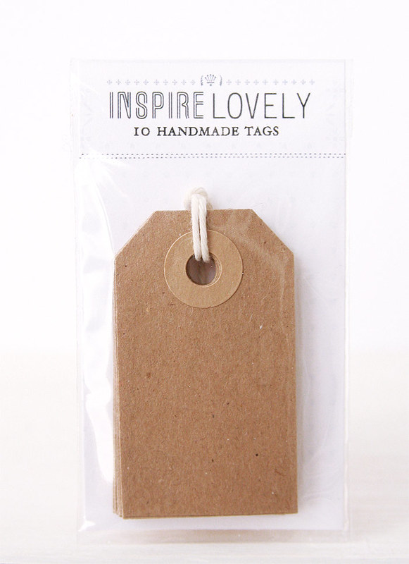 INSPIRE LOVELY GIFT TAGS