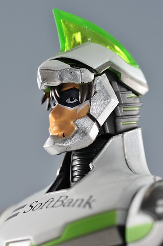 S.H.Figuarts ワイルドタイガー Face Open Ver. アップ