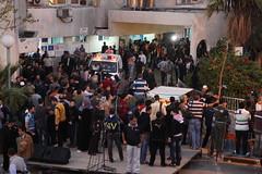 Gaza Shifa Hospital, November 20, 2012.