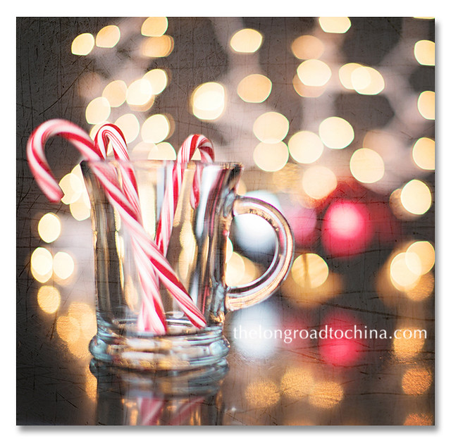 Candy Canes Empty Mug Scratches BLOG