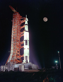 Archive: Saturn V on Launch Pad