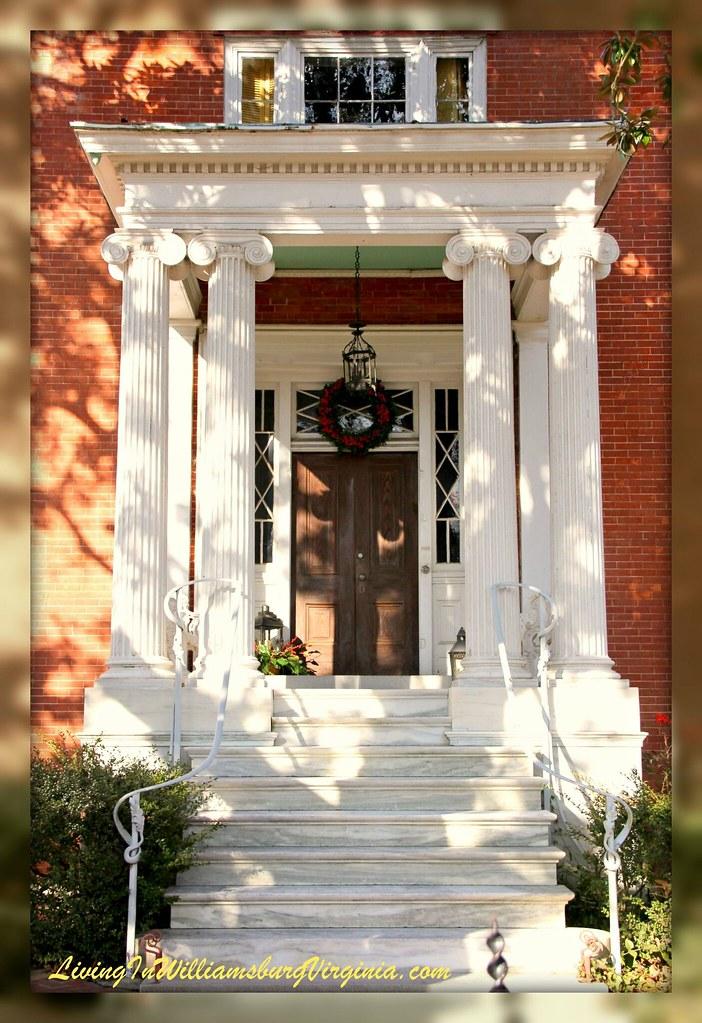 Armistead-Bowden House entryway