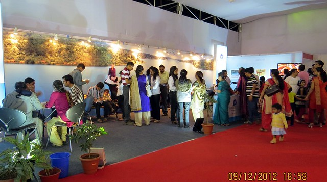 Pune Property Exhibition - Sakal Vastu - Property Expo - December 2012 - 19