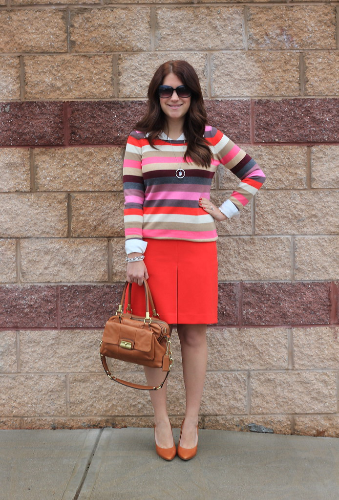 festive stripes outfit