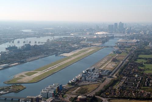 Vista aérea del LCY
