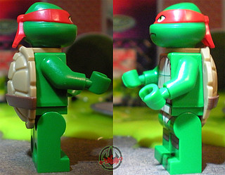 "LEGO Teenage Mutant Ninja Turtles :: ""Stealth Shell in Pursuit"" ; Raphael vi (( 2013 ))"