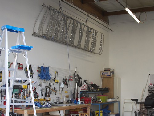 Wings over workbench