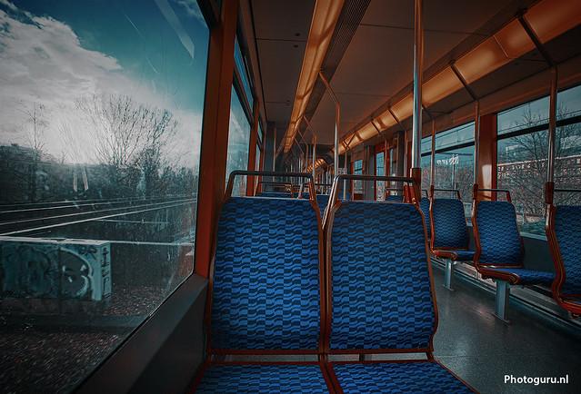 metro verlaten