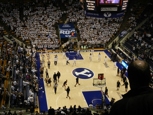 Nov 24, 2012 BYU Basketball game (2)