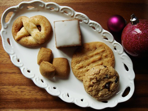 Assorted Holiday Cookies: The Keepers