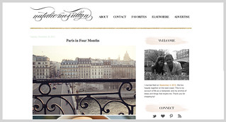 Mention about Paris in Four Months on Natalie Merrillyn