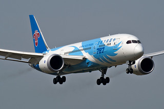Boeing 787-8 Dreamliner China Southern Airlines B-2726 Beijing Capital Airport ZBAA PEK