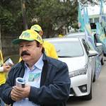 Prefeitável Levy Fidelix faz carreata pela Zona Sul de SP