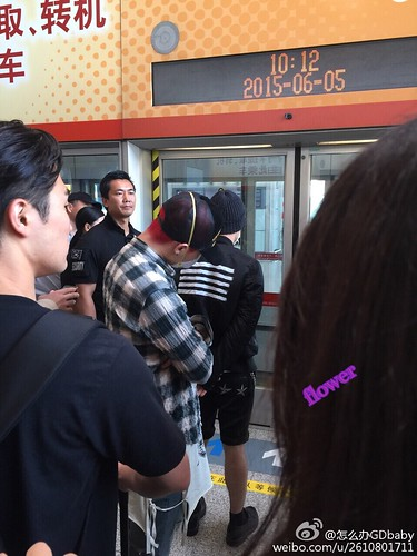 Big Bang - Beijing Airport - 05jun2015 - 怎么办GDbaby - 02