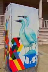Painted Utility LA Harbor