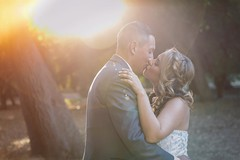 Teaser from yesterday's wedding at Orcutt Ranch Horticulture Center in Canoga Park CA. Congratulations to Rey and Mandi!
