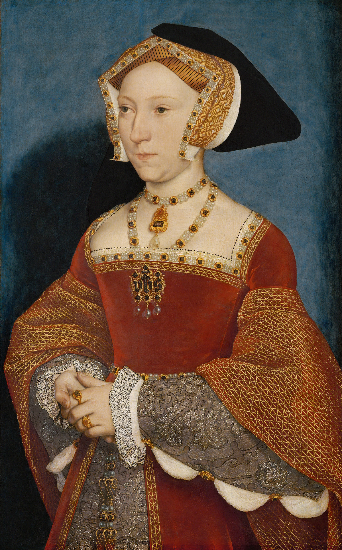 Jane Seymour, Queen of England by Hans Holbein the Younger, 1536