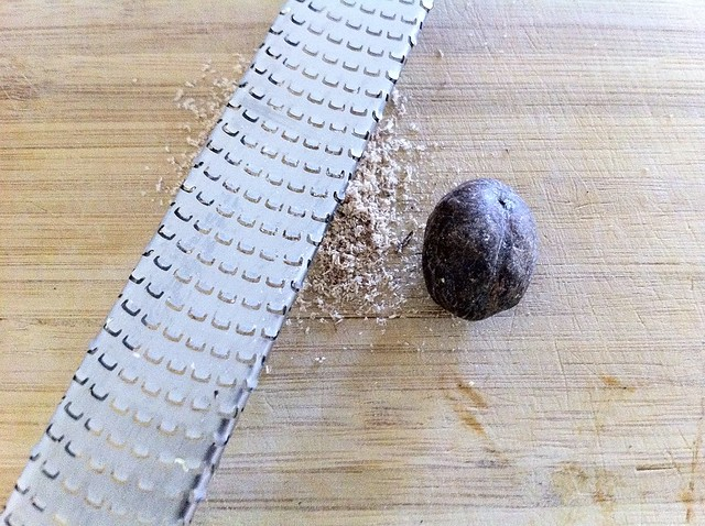 Grating Fresh Nutmeg