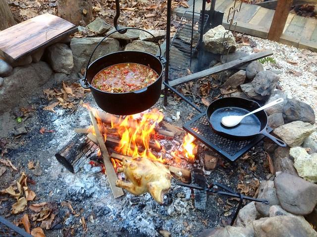 Campfire chili in a dutch oven explore 03marine 39 s photos for How to cook in a dutch oven over a campfire