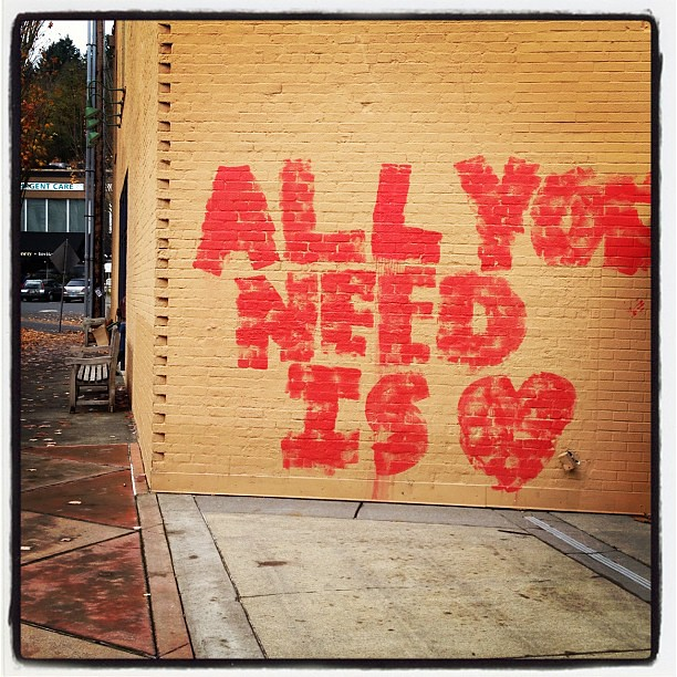 Love note. Found in NW Portland.