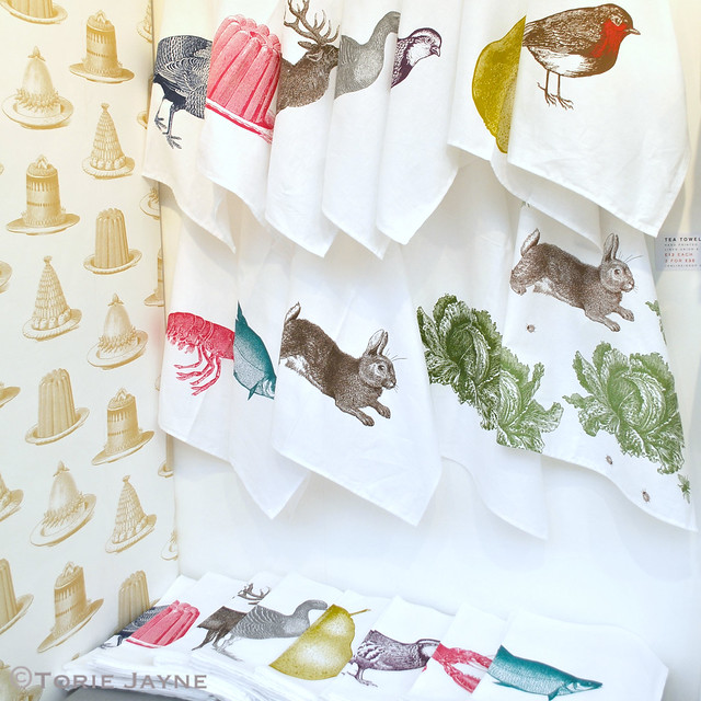 Thornback & Peel teatowels