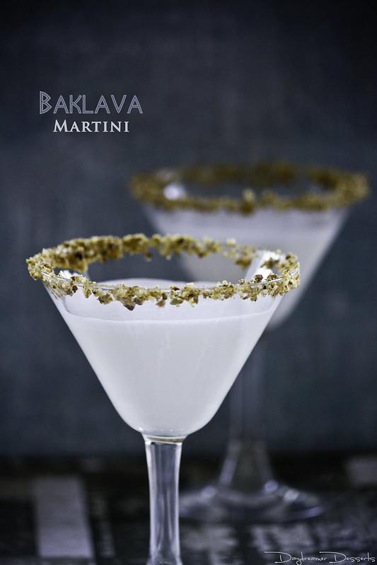 Baklava Martini