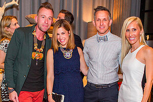 Cavalier Celebrates Opening with Alexandra von Furstenberg and other VIPs
