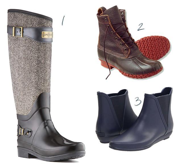 snow rain boots