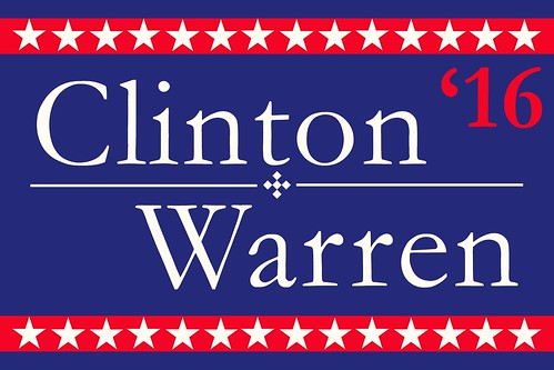 Hillary Clinton / Elizabeth Warren 2016