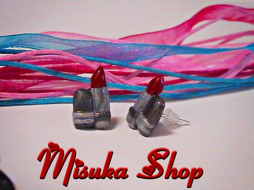 Pendientes I Love Make Up