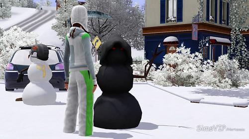 GrimReaper snowman