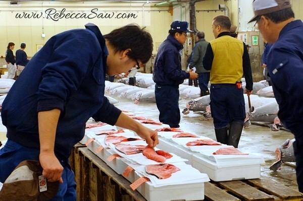 Tsukiji Market Tuna Auction - Tokyo Japan-016