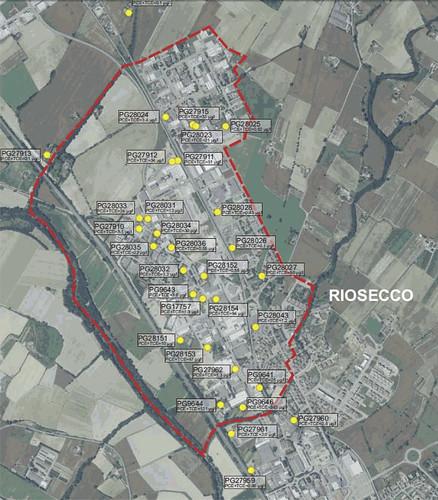 Pozzi inquinati Riosecco 9-11-2012
