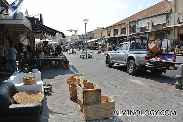 Exploring the Jaffa flea market