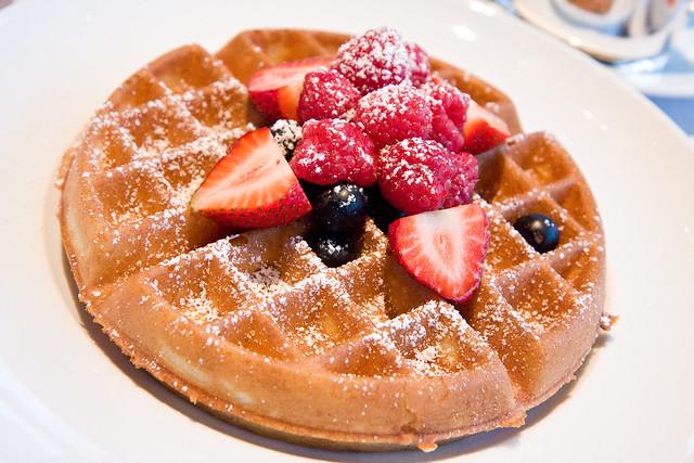 Belgian waffle, Asiate