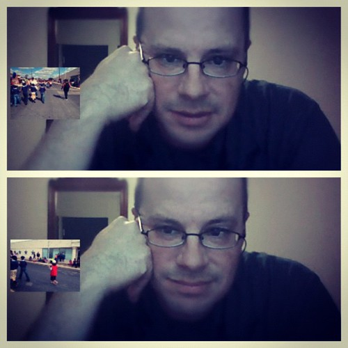 Today I am #thankful for technology. Brian got to be a part of the parade because of Skype. #november #thankfulday#10