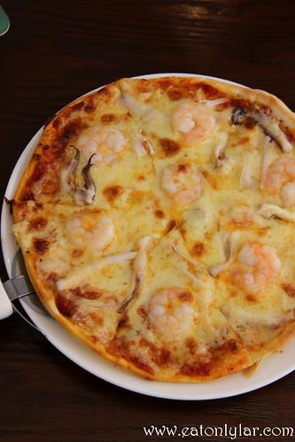 Seafood Pizza, Bistro Fiore