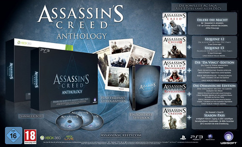 Assassin's Creed Anthology Edition (release date & price)