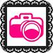 Pink instagram doily