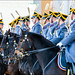 Soldier of Kremlin regiment on horseback