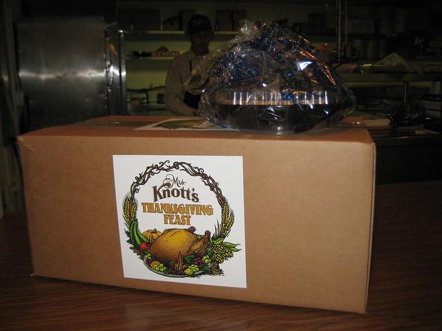 Knott's Berry Farm Take Home Thanksgiving Dinner