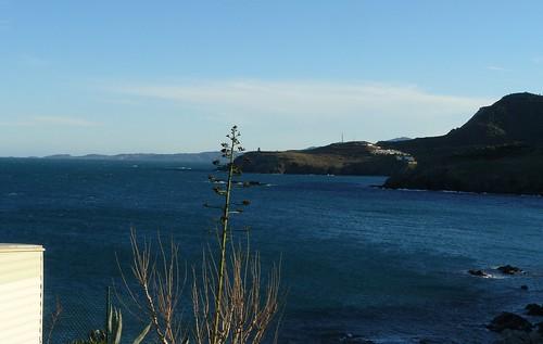 Cerbère, vue depuis le Cap Peyrefite