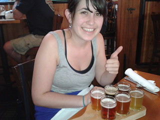 Deschutes brewery sampler