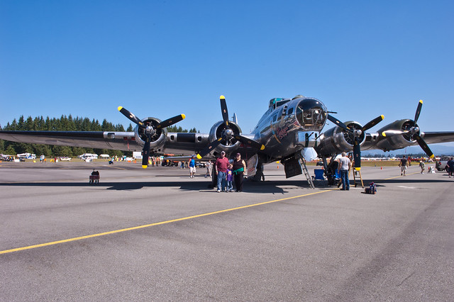 B-17 at Arlington Fly-In