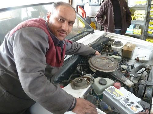 Hikmet usta tests a car's emissions by mattkrause1969
