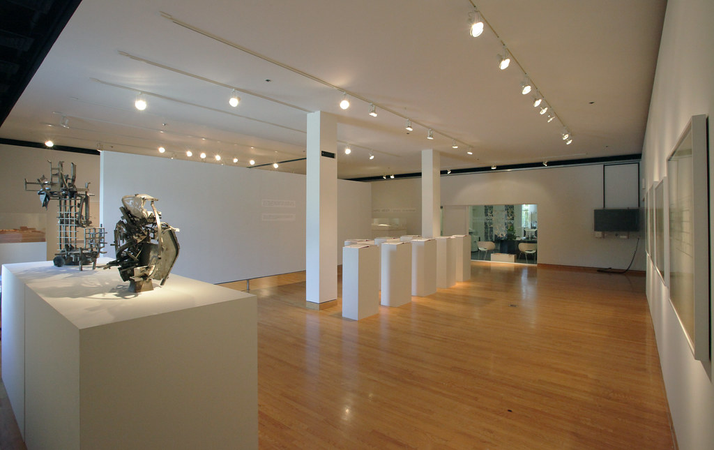 A view of the Hartell Gallery exhibition.