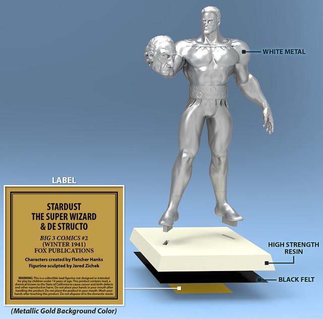 Golden Age Comics Figurine Collection 8183972138_c1ecc277f3_z